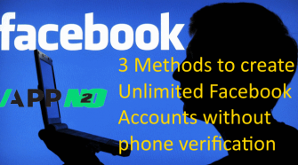 method to create facebook account